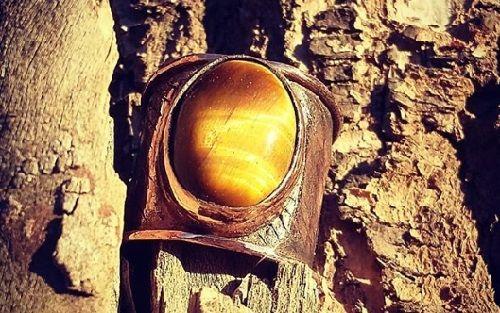 cristal ojo de tigre