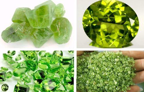Usos del olivino