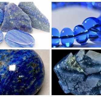 cuarzo azul oscuro con brillos significado