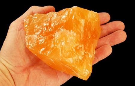 que es la calcita naranja